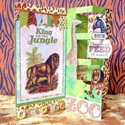Jungle Life Noteworthy Die-Cuts 45/Pkg - 6