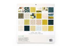 "Goldenrod Single-Sided Paper Pad 12""X12"" - 6"