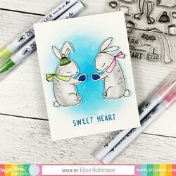 """Love You Bunnies Clear Stamps 4""""X6"""" - 6"""