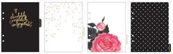 Hello Beautiful Black & White Memory Binder - 6