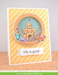 Life is Good Clear Stamps - 6