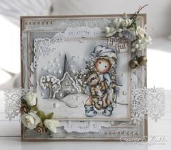 Magnolia - Tilda w/Little Rudolph - 6