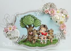 Magnolia - Tilda w/Spring Heart - 6