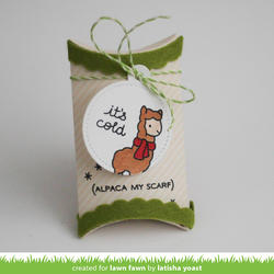 Winter Alpaca Clear Stamps - 6