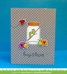 Bugs & Kisses Clear Stamps - 7